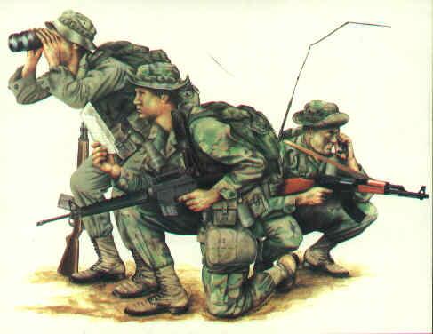 手绘特种部队作战图zt